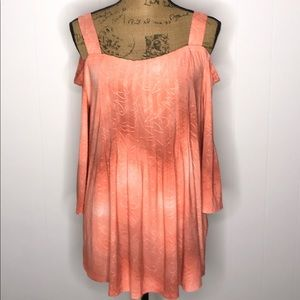 ND-New Directions Cold Shoulder Top-Size Large-NWT